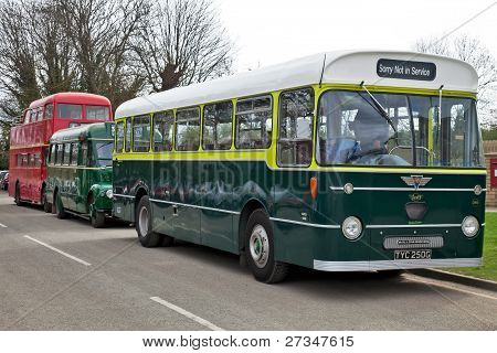 Vintage buses and coaches