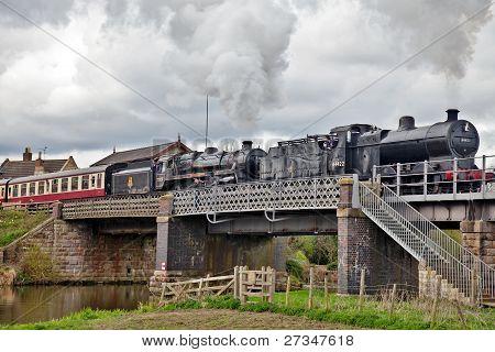 Steam over the Nene Valley