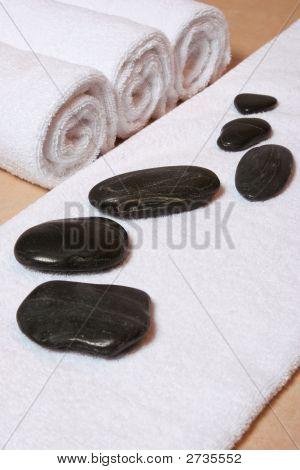 Hotstones With Towel