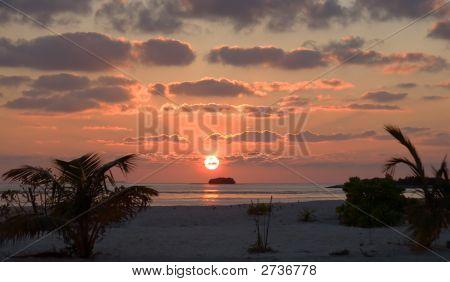 Sunset On Islands