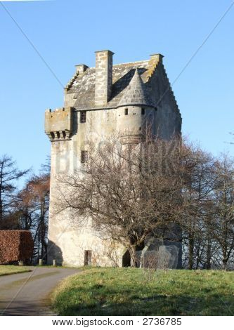 16th century scottish tower house image photo bigstock for Tower house for sale