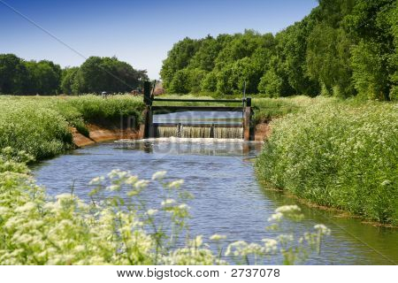 Sluice In Stream