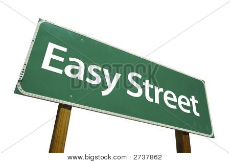 Easy Street - Road Sign.