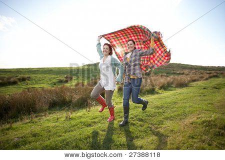 Women in countryside
