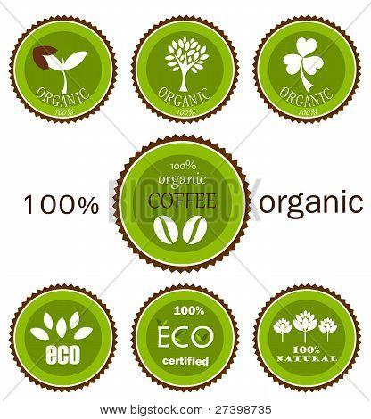 organische Umweltzeichen