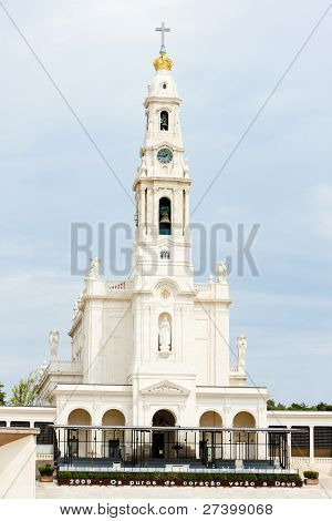 Sanctuary of Our Lady of Fatima, Fatima, Estremadura, Portugal