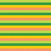 Yellow Green Pink Horizontal Stripes Pattern. Horizontal Striped Seamless Vector Background. Great F poster