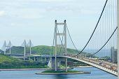 pic of tsing ma bridge  - Tsing Ma Bridge - JPG