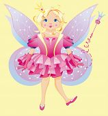 picture of have sweet dreams  - The beautiful fairy has a wonderful  dress - JPG
