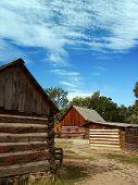 Historic Wooden Barns poster