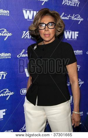 LOS ANGELES - SEP 21:  Diahann Carroll arrives at the Variety and Women in Film Pre-Emmy Event at Scarpetta on September 21, 2012 in Beverly Hills, CA