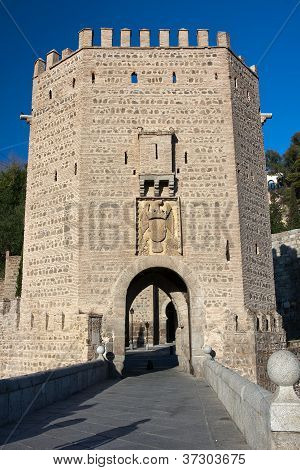 Old Puente De Alcantara -toledo