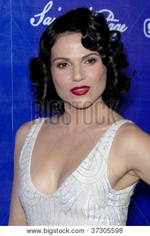 LOS ANGELES - SEP 21:  Lana Parrilla arrives at the Variety and Women in Film Pre-Emmy Event at Scarpetta on September 21, 2012 in Beverly Hills, CA