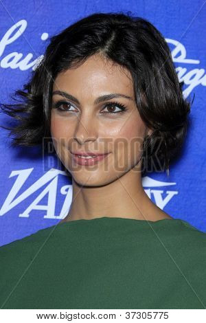 LOS ANGELES - SEP 21:  Morena Baccarin arrives at the Variety and Women in Film Pre-Emmy Event at Scarpetta on September 21, 2012 in Beverly Hills, CA