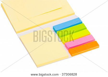 Stationery Set Over White