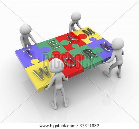 Puzzle Team Work
