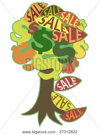 Image, Symbolizing Autumn Sales