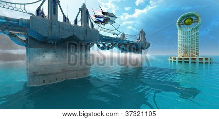 Futuristic Skyway