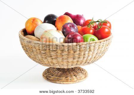 Basket Of Produce