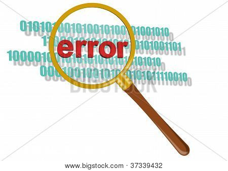 Inspect Error In Magnifier