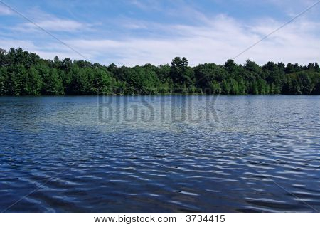 Deep Blue Lake