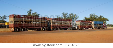 Road Train In Australia2