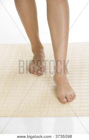 Sensual Legs Of Woman