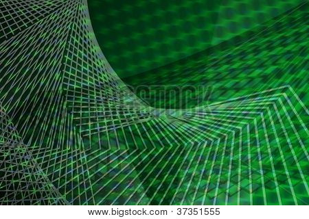 Mesh Or Net Background With Shadows