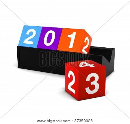 2013 Colorful Box