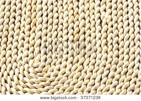 Twisted Cane Table Mat In Closeup