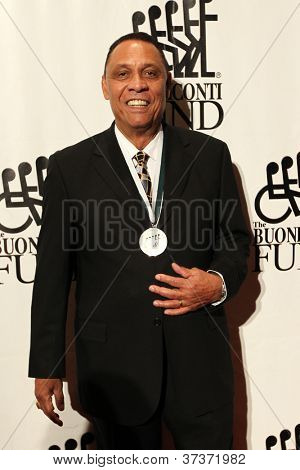 NEW YORK-SEPT. 24: Former baseball player Tony Perez attends the 27th Great Sports Legends Dinner for the Buoniconti Fund at the Waldorf-Astoria on September 24, 2012 in New York City.