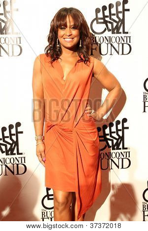 NEW YORK-SEPT. 24: Boxer Laila Ali attends the 27th annual Great Sports Legends Dinner for the Buoniconti Fund at the Waldorf-Astoria on September 24, 2012 in New York City.