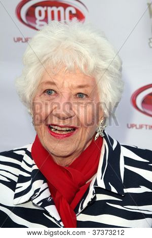 LOS ANGELES - SEP 29:  Charlotte Rae arrives at the 40th Anniversary of