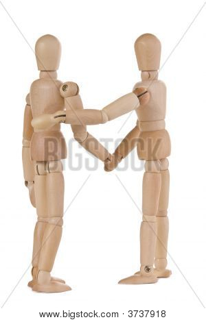 Mannequin Greeting