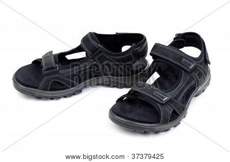 Pair Of Mens Sandals