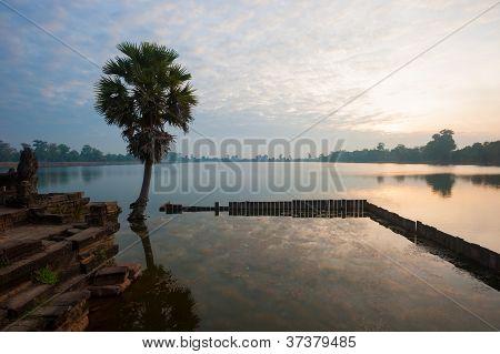 Srah Srang Baray, Angkor, Cambodia