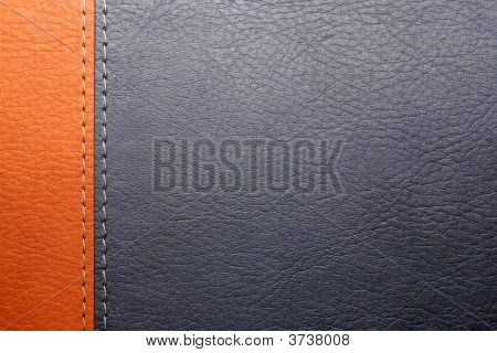 Leather Cover Of The Book