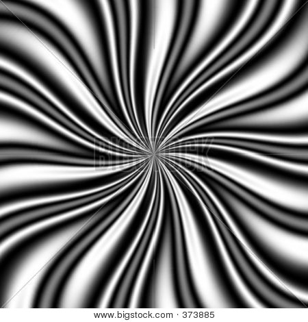 B & W Swirly Vortex