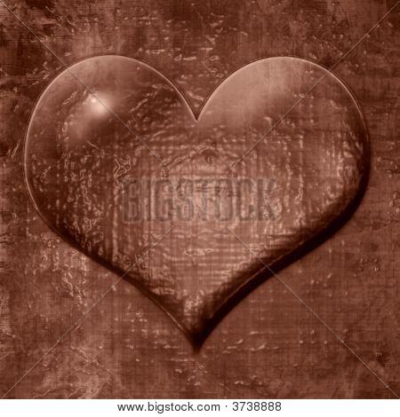 Heart Shaped Chocolate Drop