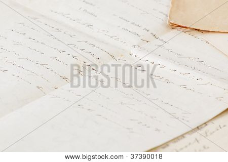 Very Old Handwritten Contract