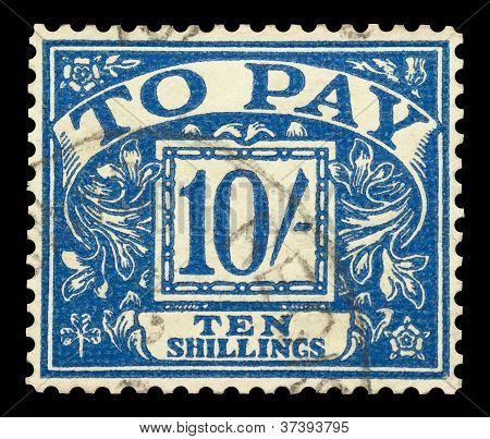 Ten Shillings To Pay