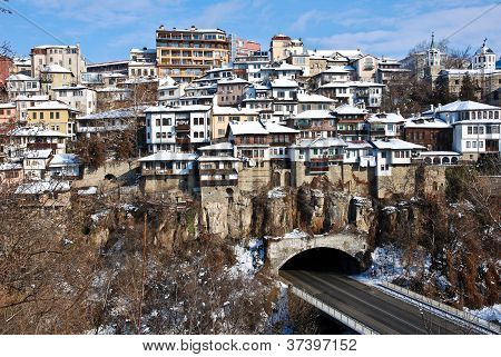 Old Town Veliko Tarnovo in Bulgaria Europe