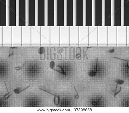 Piano Musical Background