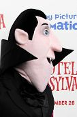 LOS ANGELES - SEP 22:  Characters from movie Hotel Transylvania arrives at the