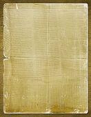 Постер, плакат: Гранж бумага для приглашение с древней газета