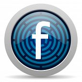 stock photo of loom  - facebook icon - JPG