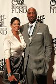 NEW YORK-SEPT. 24: Former basketball player Alonzo Mourning (R) and wife Tracy attend the 27th Great