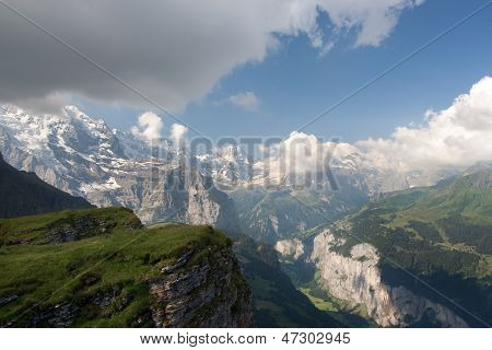 Alps In Switzerland