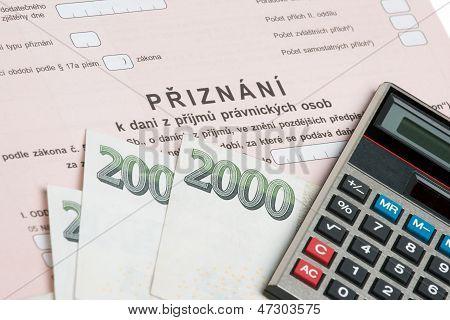 Czech Tax Form