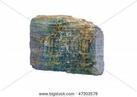 Cristal de apatita (Mineral de fosfato de calcio)